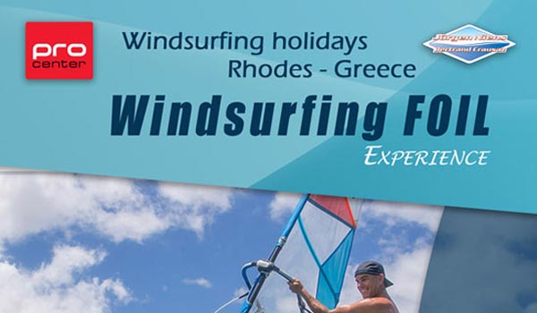 ProCenter Rhodos - Windsurfing foil experience