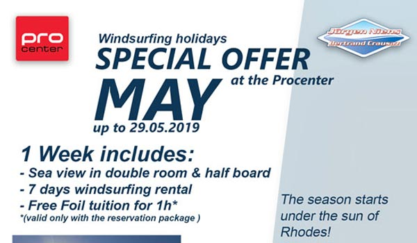 ProCenter Rhodos - Windsurf Special in May